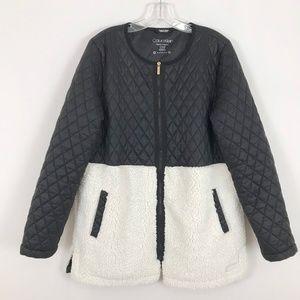 Calvin Klein performance fleece quilted jacket